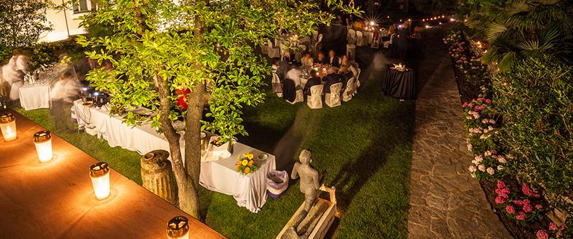 Una cena con la compagnia San Ranieri e la tradizionale Luminaria.