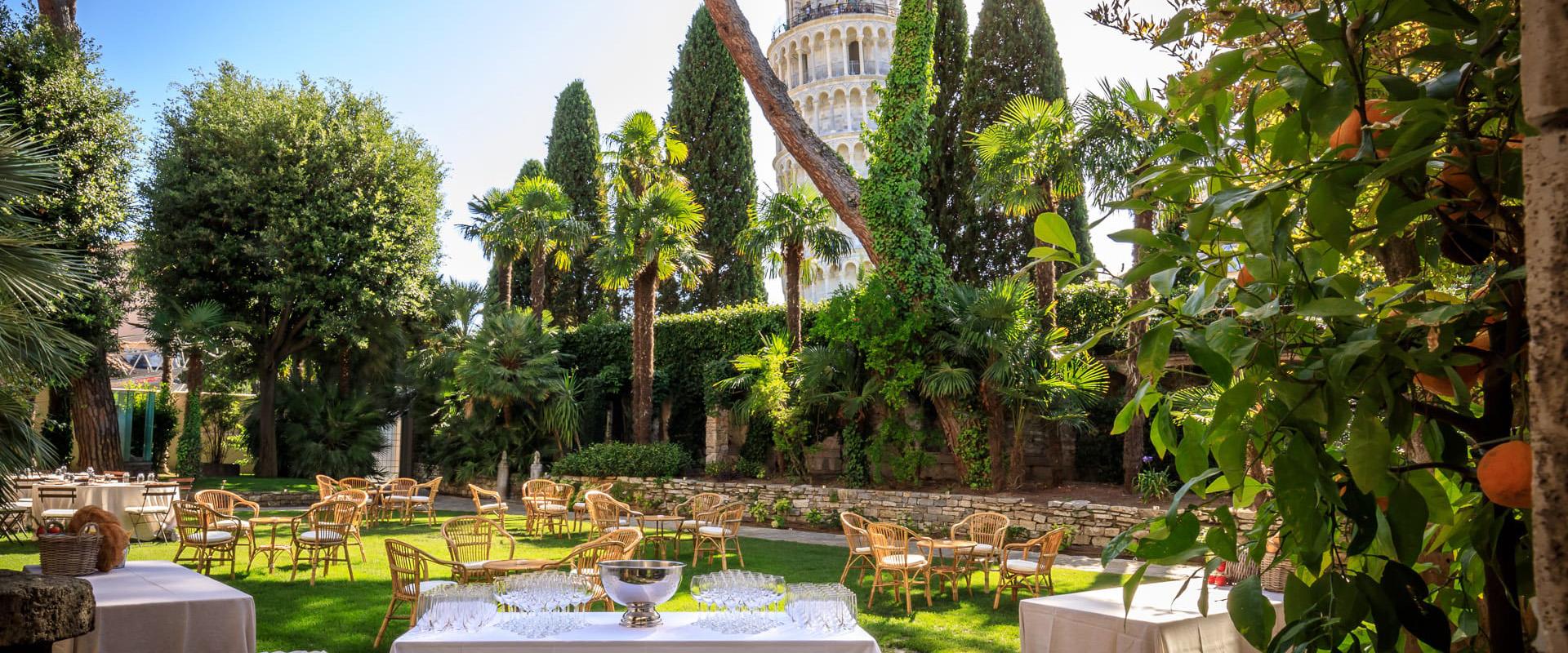 Festa a sorpresa con vista sulla Torre di Pisa