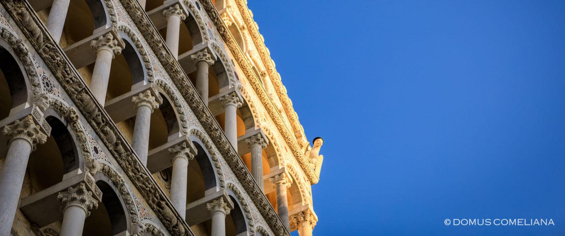 Duomo di Pisa - Dettaglio facciata